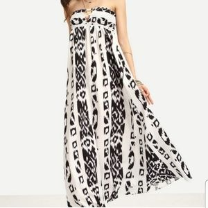 MAXI | Ladder Cut Maxi Dress